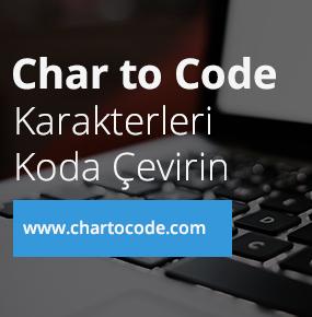 Online Character to Code Converter